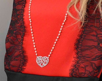 Christmas gits Heart monograms,Initial heart  monograms,Women's monograms,Mother's day gifts.