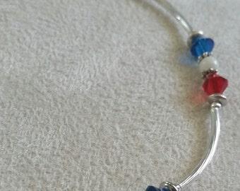 Swarovski Patriotic Bracelet