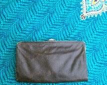 20s 30s Vintage Leather Purse Womens Handbag • Antique Leather Ladies Handbag
