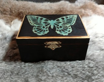 Blue Butterfly Box