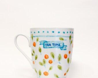 Tea Time - Oranges Mug