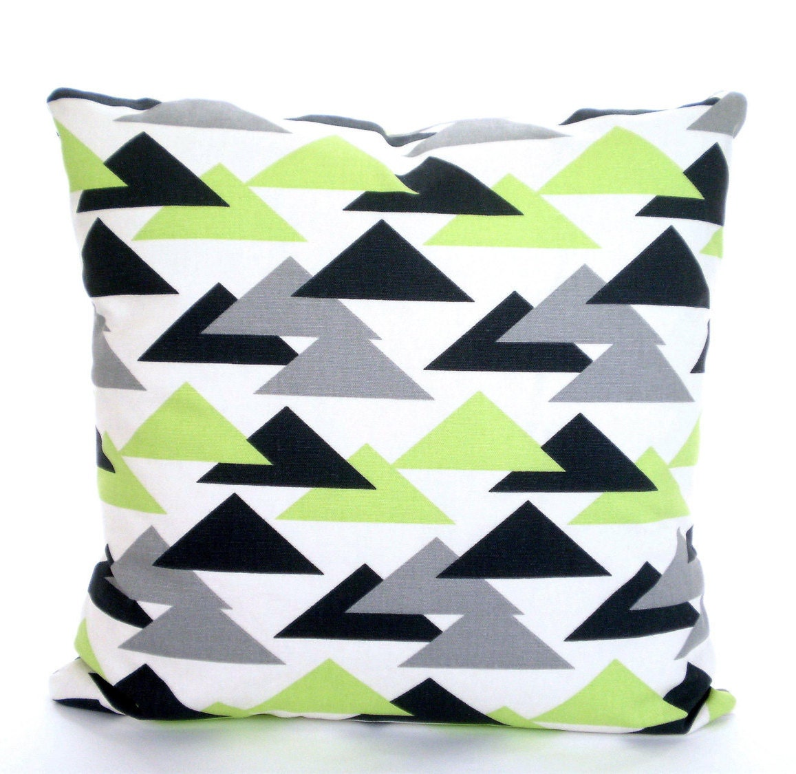 Green Gray Charcoal Decorative Throw Pillow Covers Cushions