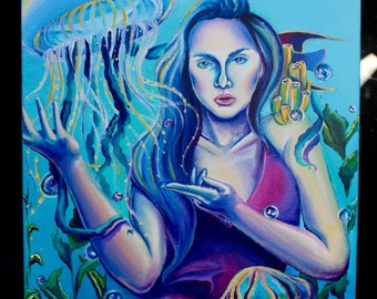 Lost at Sea - Original Painting