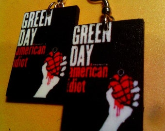 Green Day Earrings