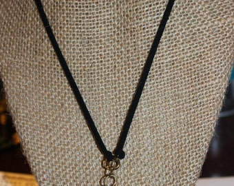 White Tooth Wrap Necklace