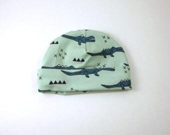 50% OFF Baby girl  hat -baby shower gift - Flower newborn hat crocodile