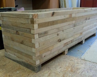 Planter,indoor planter,outdoor planter,wood planter,garden planter,vegetable planter,rustic planter,window box,wooden planter, garden