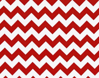 Chevron red fabric by Riley Blake