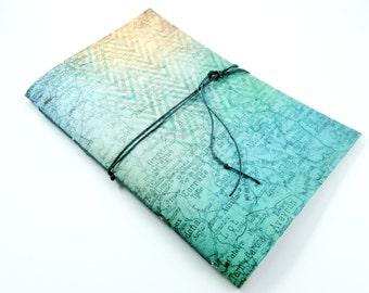 School Planner, Pretty Agenda, Weekly College Planner, Undated Calendar, Cute Date Book, Student Planner, French Map, Blue Chevron