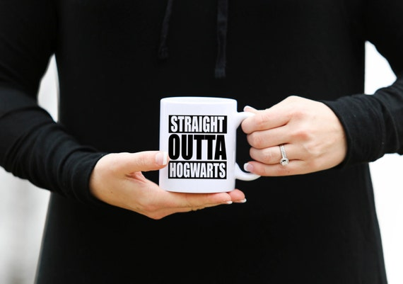 STRAIGHT OUTTA HOGWARTS | Harry Potter Mug | 11 oz.