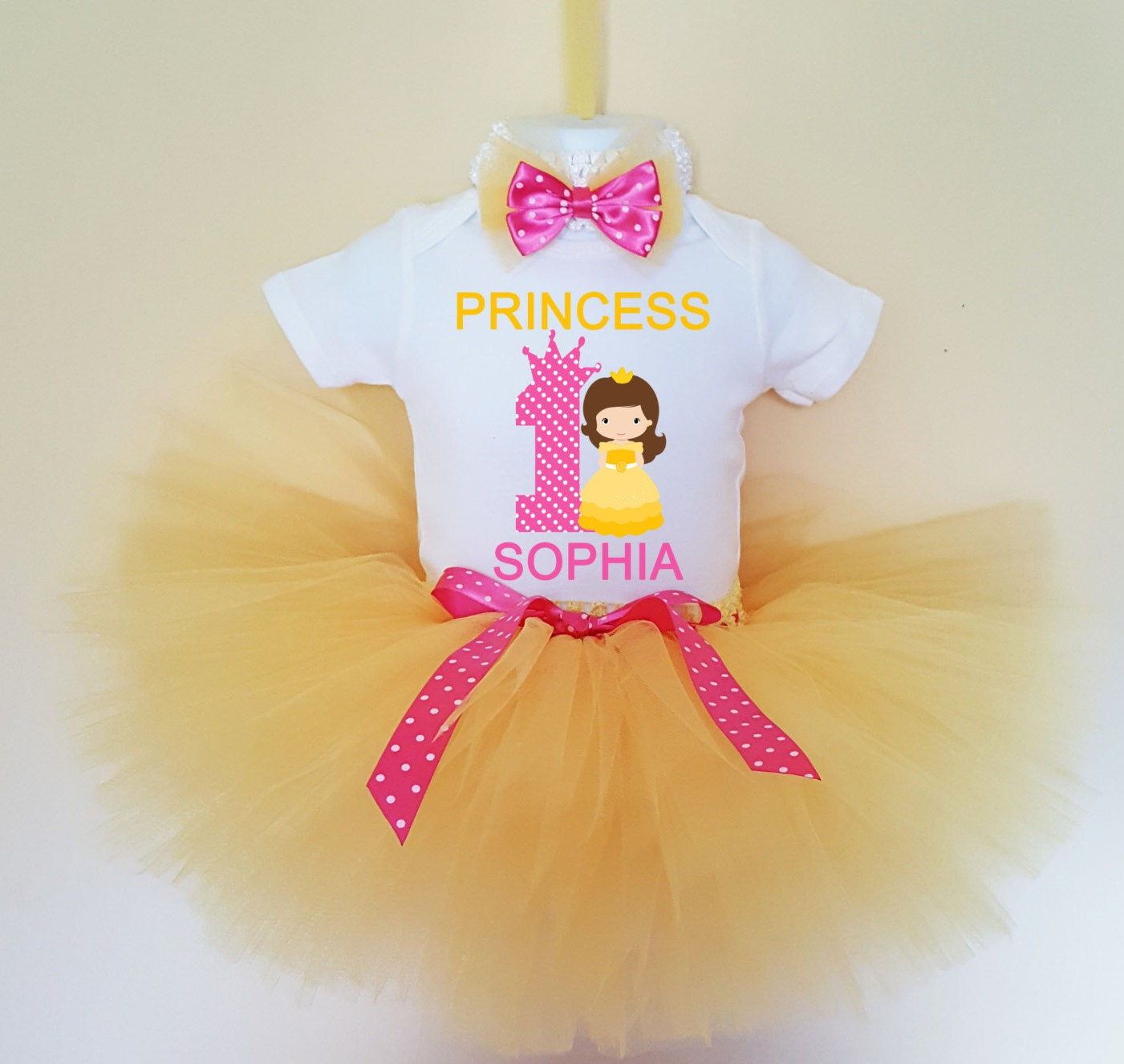 1st Birthday Outfit Princess 1st Birthday Outfit 1st