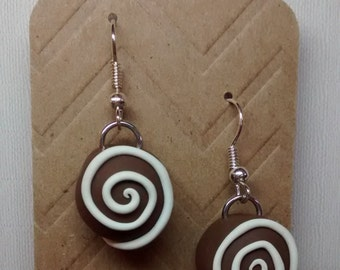 Chocolate Dangle Earrings