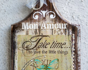Shabby Chic Wall Decor, Shabby Chic Decor, Shabby Chic Home Decor, Wall Art, Wall Decor, Wall Art Quotes, Romantic Decor, Shabby Chic
