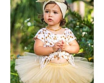 CHAMPAGNE BUBBLES Gorgeous Wrap- headwrap; fabric head wrap; gold head wrap; sparkle; newborn headband; baby headband; toddler headband