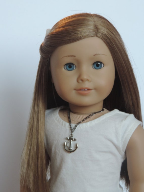 Anchor Necklace - 18 Inch Doll Clothes // Jewelry