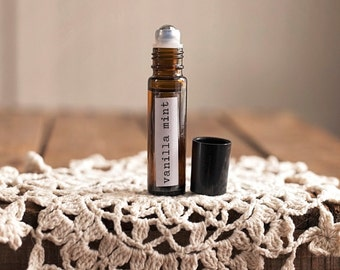 Vanilla Mint Essential Oil Roll-on Perfume