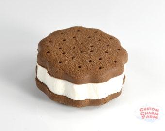 Ice Cream Sandwich Cookie Magnet