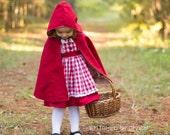 Custom Little Red Costume for Liz