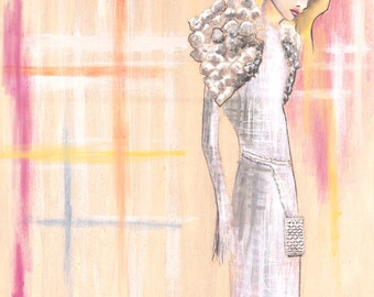 Chanel Spring Couture '16 Fine Art Print