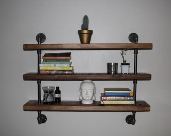 industrial pipe shelf pipe shelving wood and pipe shelf pipe shelf industrial