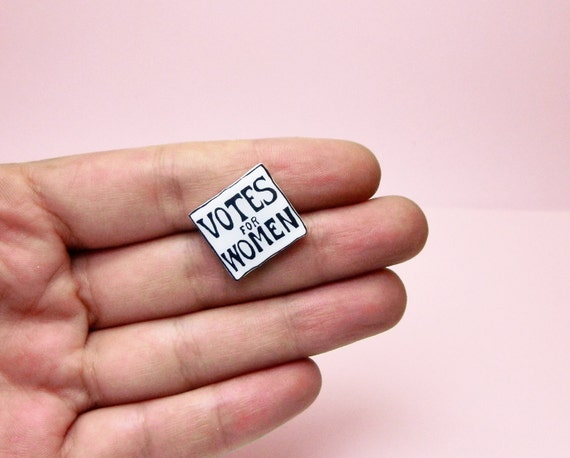 Votes for Women Enamel Pin | Feminist Gift Guide