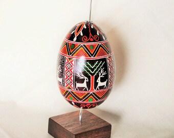 pisanki ukrainian easter egg pysanky goose egg by