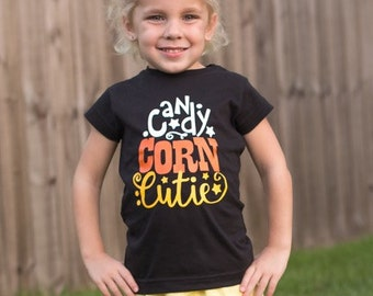 Candy Corn Cutie Halloween Onesie/Shirt - 0-24 months - 2T-12 Girls