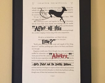 After all this time? Always  - Harry Potter Page Art