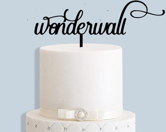 Wonderful Oasis Cake Topper
