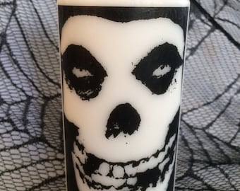 Misfits Crimson Ghost White Pillar Candle