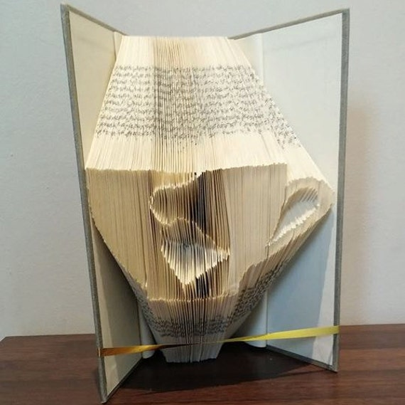 Book folding art pattern for a cup of tea from ...