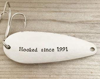 25th Wedding Anniversary Gift Man : 25th anniversary gift gifts for men women wedding anniversary hooked ...