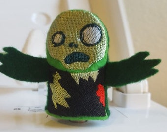 Zombie finger puppet/ Thumb fight puppet