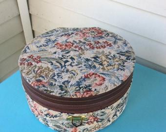 Vintage Lady Sunbeam Hair Dryer in Tapestry Case