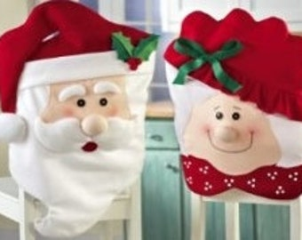 Santa and Mrs. Clause Potholders