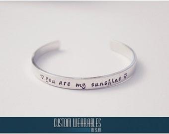CUSTOM Stamped Bracelets!