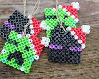 Minecraft Inspired Christmas Ornaments - Creeper and Enderman Set of 8 **LIMITED TIME**