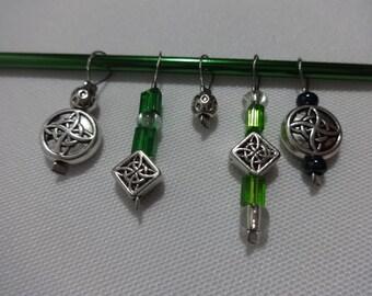 Snag Free Stitch Markers Celtic Knot