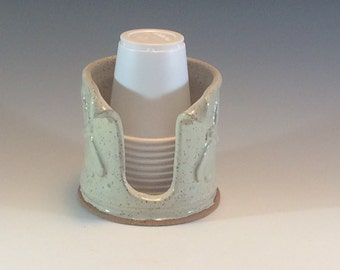 Dixie Bathroom Cup Dispenser Kitchen Sponge Holder by