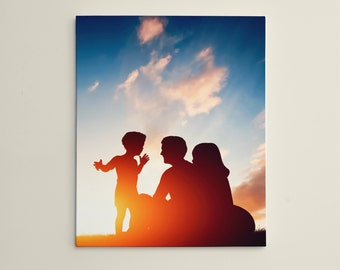 """Personalized 16"""" x 20"""" Photo / Image Canvas Gallery Wrap Print"""