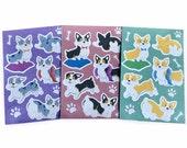 Corgi Sticker Pack
