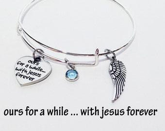 Baby Memorial, Baby Memorial Gift, Baby Loss Bracelet, Loss of Baby, Loss of a Child, Baby Loss Gift, Baby Loss Jewelry, Memorial Bracelet
