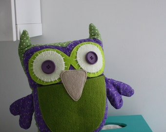 SALES / sales Katie the cuddly toy - kids Katie decoration OWL blanket, baby Owl.