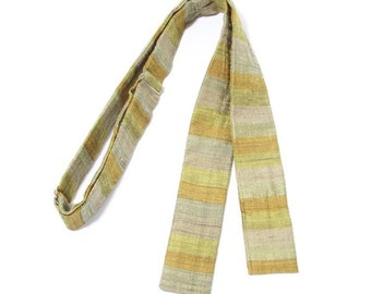1950's vintage Robert Talbott cotton batwing bow tie