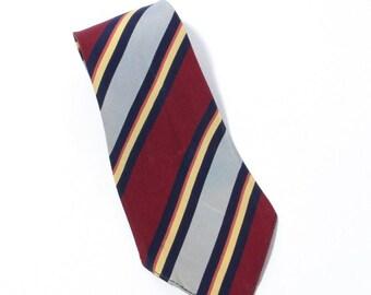 Quixlide Cravat 1930's VTG Naval Aviation Fighting Squadron 2 (VFA-2) neck tie