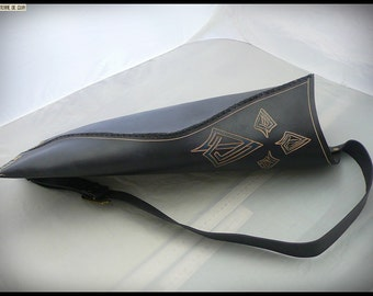 Quiver order - vegetable tanned leather