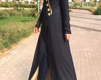 Double-sided Linen Abaya