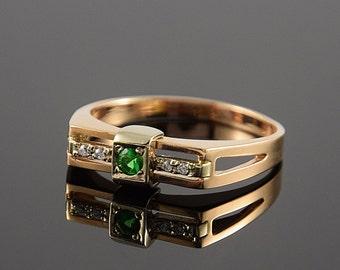 Man ring gold, Signet gold ring, Man signet ring, Fashion man ring, Fashion signet ring, 14k gold man ring