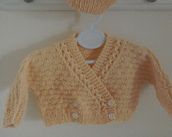 Baby cardigan/newborn cardigan /preemie cardigan/newborn sweater