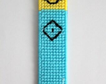 Minion bookmark,kids bookmark,school book,planner accessories,student gift,back to school,text book,boys bookmark,small gift idea